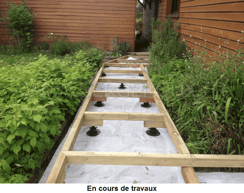 Serge roux charpente extensions amenagements bois for Amenagement contour maison